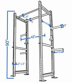 Power Rack Design Measurements                                                                                                                                                     More
