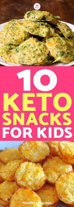 Kids can do the ketogenic diet as well! These kid-approved keto snacks will have them happily eating healthy.