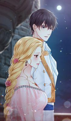 Return of the female knight - korean ranobe - art Romantic Anime Couples, Romantic Manga, Cute Anime Couples, Anime Couples Drawings, Anime Couples Manga, Manga Anime, Manga Couple, Anime Love Couple, Girls Anime