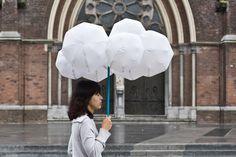 Cloud Umbrella by Joon & Jung: Sadly, it's just a prototype