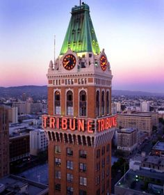 Tribune Tower in Downtown Oakland