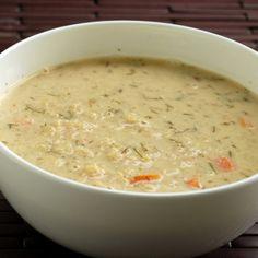 Greek Lemon Quinoa Soup - Weight Loss Recipes: Weight Loss Soup - Shape Magazine