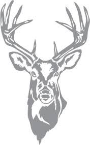 Image result for stag head stencil