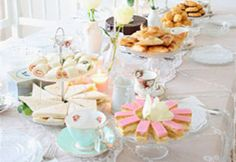Bridal Shower Inspiration: A Charming High Tea Party