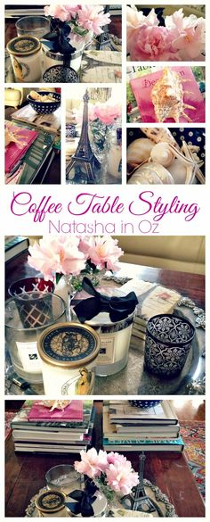 Styling a coffee table #vignette #decor #decorating