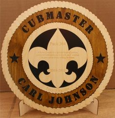 Scout Leader Award Plaque - Circle - Boy Scout Store