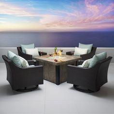 Northridge 5 Piece Conversation Set with Cushions
