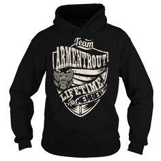 Last Name, Surname Tshirts - Team ARMENTROUT Lifetime Member Eagle