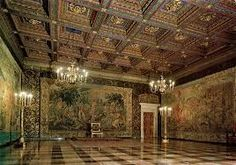 Wawel Castle interiors.