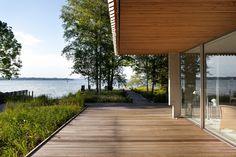 See Steg - Glasschiebetüre - Haus K, Stephan Maria Lang Architects