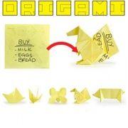 Bloc-notes origami