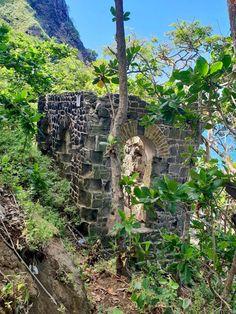 Military Latrine at Pigeon Island National Landmark in St Lucia. Sea Trek, National Landmarks, Saint Lucia, Adventure Of The Seas, Sustainable Tourism, Amazing Destinations, Pigeon, Islands, Caribbean