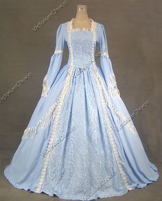 Marie+Antoinette+Victorian+Dress+Ball+Gown+Prom+Wedding