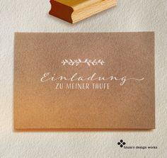 **Stempel für Einladungen zur Taufe** Für liebevoll selbstgestaltete Einladungskarten zur Taufe eures kleinen Sonnenscheins. Oder Einladungen zur Kommunion, Konfirmation oder zum Geburtstag......