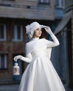 Hijab Wedding Style - Hijab Wedding Dress - Hijab Wedding Photography - Hijab+ - - Hijab Wedding Style Hijab Wedding Dress Hijab Wedding Photography Source by Muslimah Wedding Dress, Muslim Wedding Dresses, Bridal Dresses, Bridal Hijab, Muslim Dress, Muslim Fashion, Hijab Fashion, Fashion Dresses, Women's Fashion