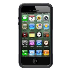 NEW OEM Otterbox Commuter Series Rugged Case For Apple iPhone 4 , 4S -Black #OtterBox