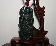 "2.6"" China Certified Nature Nephrite Hetian Green Jade Fortune God Pendants, http://www.amazon.com/dp/B01HMRNMFI/ref=cm_sw_r_pi_n_awdm_nM4DxbJ7MH8QJ"
