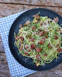 lindastuhaug - lidenskap for sunn mat og trening Enchiladas, Spaghetti, Curry, Good Food, Food And Drink, Bacon, Healthy Recipes, Ethnic Recipes, Dinners
