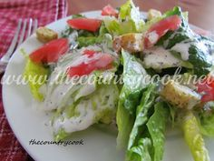 The Country Cook: Homemade Ranch Dressing
