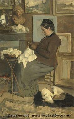 Portrait de la mère de l'artiste, Alfred Smith (1854-1936)