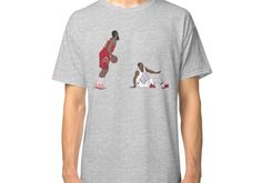 decc9a826dd4 James Harden Crossover On Wesley Johnson Classic T-Shirt
