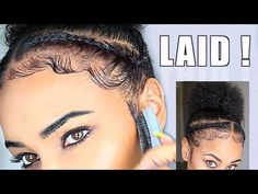 How To Slay & Lay Your Edges - Baby Hair Tutorial for beginners! [Video] - Black Hair Information