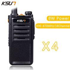 >> Click to Buy << (4 PCS)Black Walkie Talkie UHF 400-470 MHz MINI-handheld transceiver two way Ham Radio communicator #Affiliate