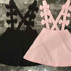 Best 12 Handmade Skirts & Rompers by blytheandreese on Etsy… Baby Dress – SkillOfKing. Pastel Goth Fashion, Kawaii Fashion, Cute Fashion, Kids Fashion, Pastel Goth Clothes, Fashion Goth, Cute Baby Clothes, Diy Clothes, Little Girl Dresses