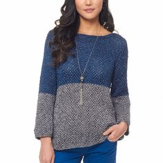 Patons Color Dipped Top, XS/S