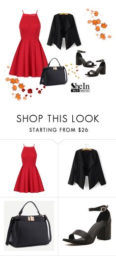 """""""SheIn 7/IV"""" by hedija-okanovic ❤ liked on Polyvore featuring Chi Chi and shein"""