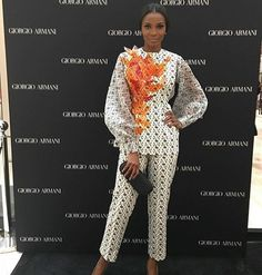 If Olivier Rousteing has his Balmain army and Riccardo Tisci is forming a love gang, in the context of Nigerian fashion, it's all about a Lisa Folawiyo girl.