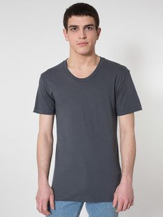 4ed9cbebaee Sheer Jersey Loose Crew Summer T-Shirt Summer Tshirts