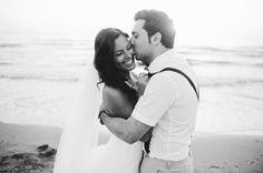 Die romantische Strandhochzeit von Hilal und Moses   Friedatheres Foto: Nadia Meli