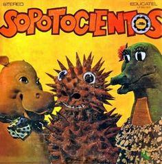 """Sopotocientos, programa educativo infantil de TV de los años 70s. My favorite character was """"potamito"""""""