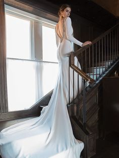 Studio St Patrick Wedding Gown #weddinggowns