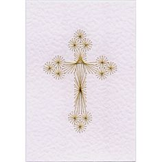 Cross 2 | Religious patterns at Stitching Cards.