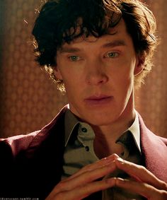 Sherlock Holmes...the man with a storm in his head.