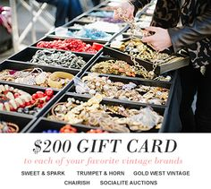Enter your email to win an $1,000 Vintage Shopping Spree! Sweepstakes 2015, Cash Gift Card, Diy Fashion, Vintage Fashion, Vintage Branding, Good Ole, No Me Importa, Shopping Spree, Brand You