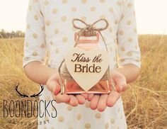 Kiss The Bride Cowbell Ring For A Kiss by DownInTheBoondocks
