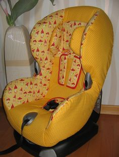 Baby Car Seats, Etsy, Children, Bike Seat, Worth It, Fungi, Yellow, Cotton, Boys