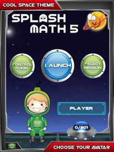 Check out the New 5th Grade Splash Math App for iPad from StudyPad!