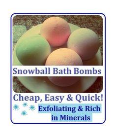 DIY Bath Bombs!