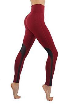 Codefit Yoga Pants Power Flex Dry Fit Cross Mesh Exposed Back Zipper