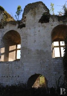 lorraine france ruins   In the Picardy region, a listed site with the ruins of a medieval ...