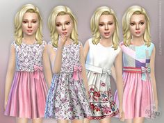 The Sims Resource: Designer Dresses Collection P33  by lillka • Sims 4 Downloads