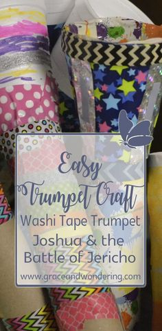 Joshua and the Battle of Jericho trumpet craft