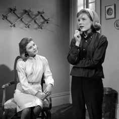 The Patty Duke Show..... Still, they're cousins,  Identical cousins and you'll find,  They laugh alike, they walk alike,  At times they even talk alike --