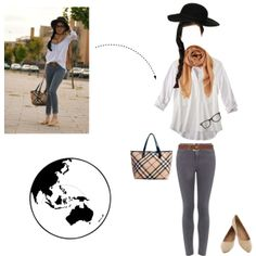 """""""Around the World"""" by theresek4444 on Polyvore"""