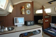 O'Day 22 Interior finished. 2010