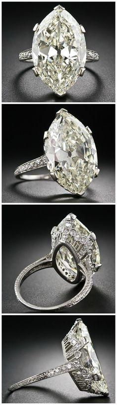 Lang Antiques' 9.55 carat beauty